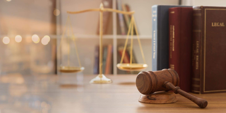 un bureau d'avocat